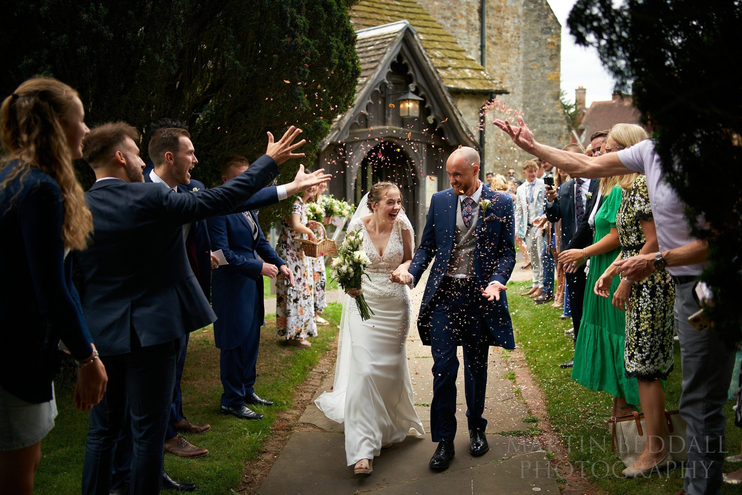 Sussex wedding confetti