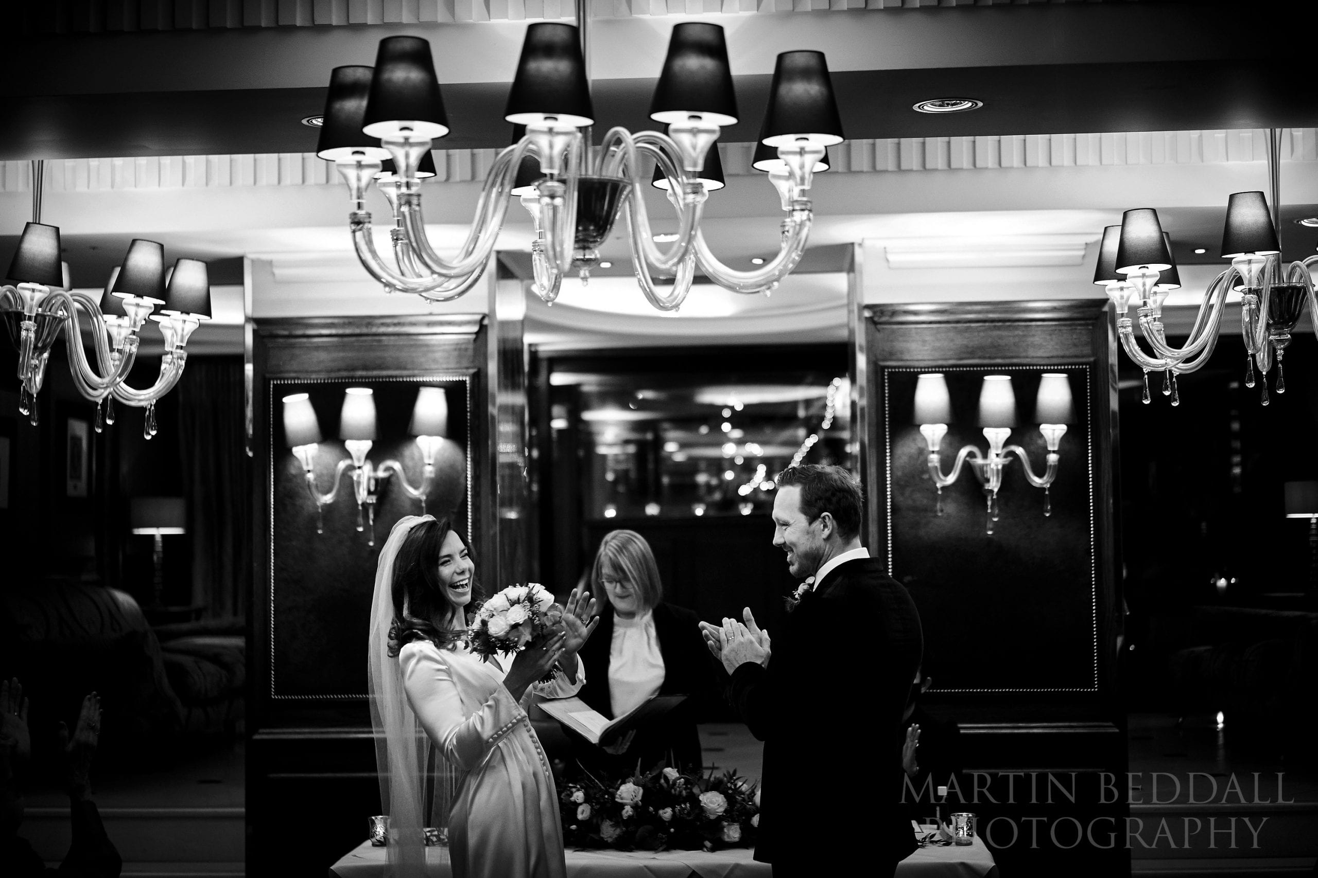 Wedding ceremony at The Goring hotel in London