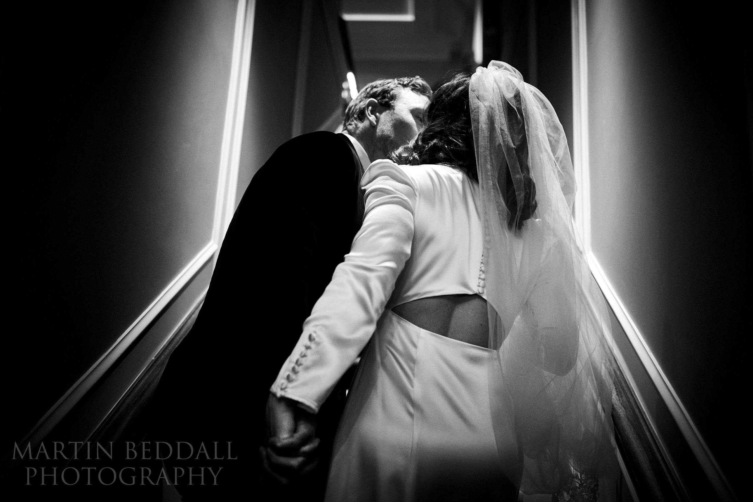 London wedding couple