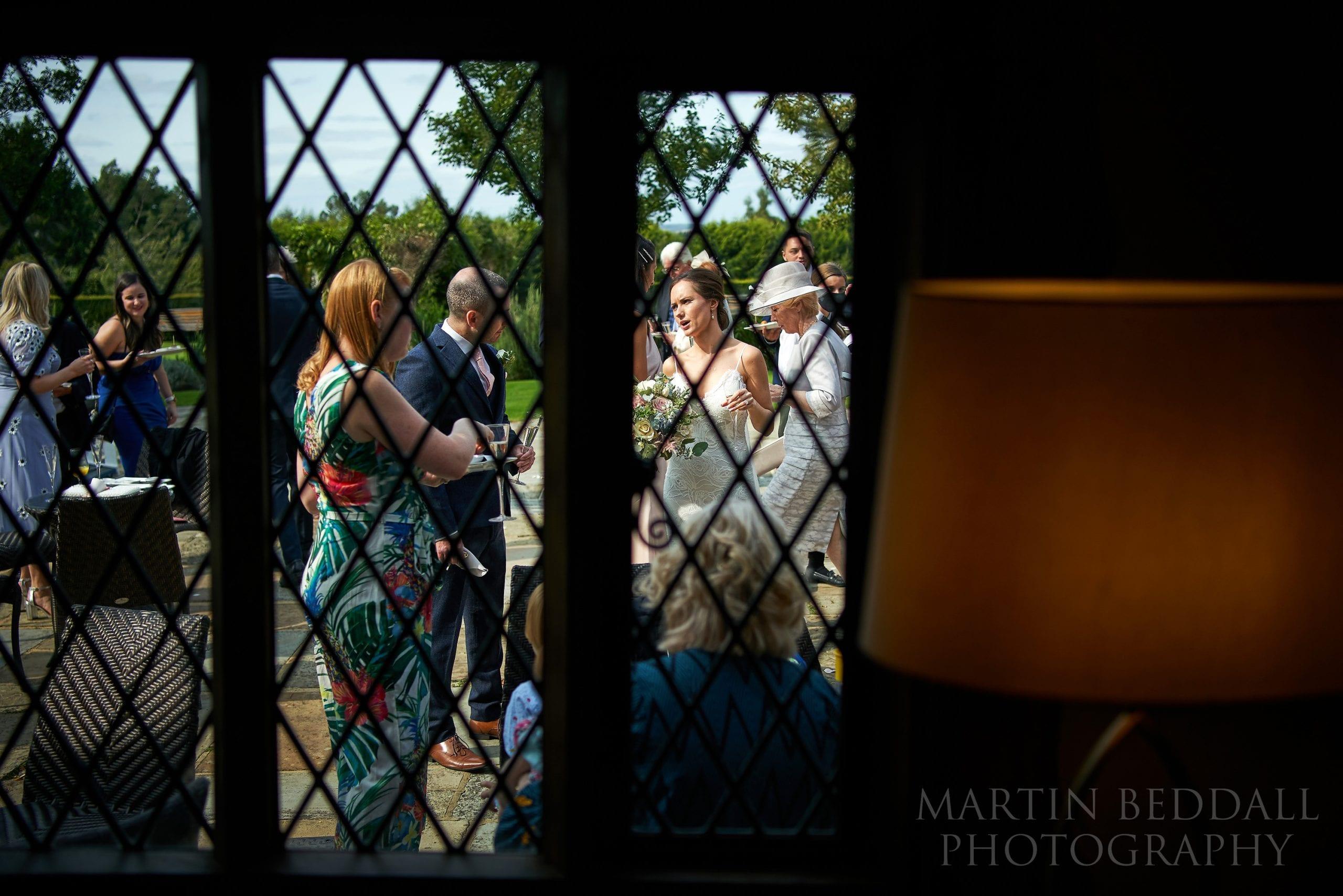 Wedding reception at Cain Manor in Surrey