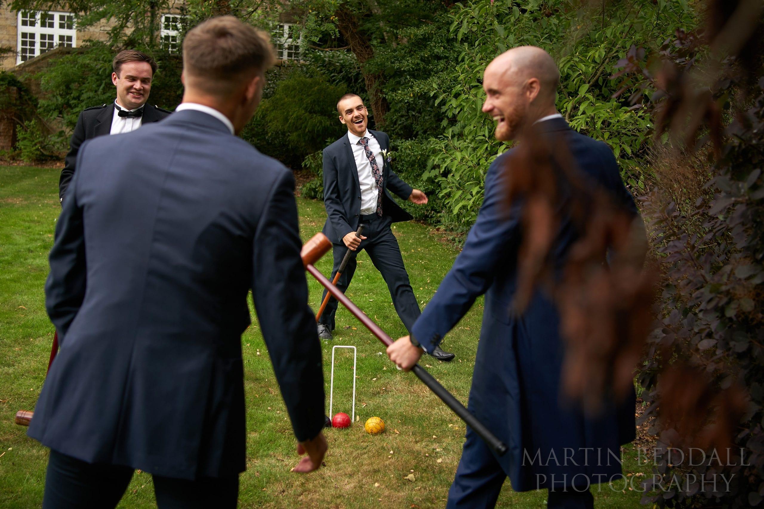 Games at Ockenden Manor