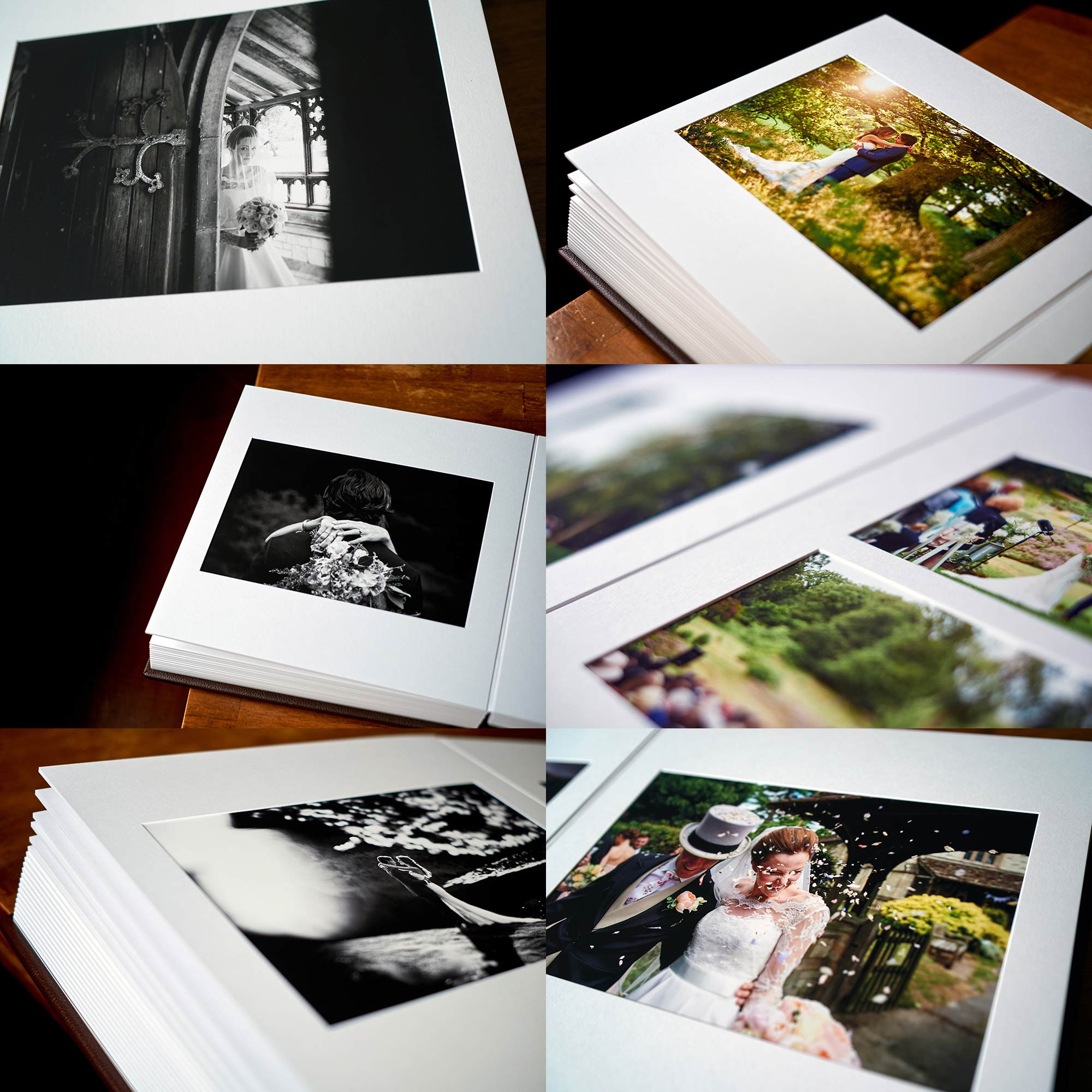 Matted wedding album, slightly more traditional