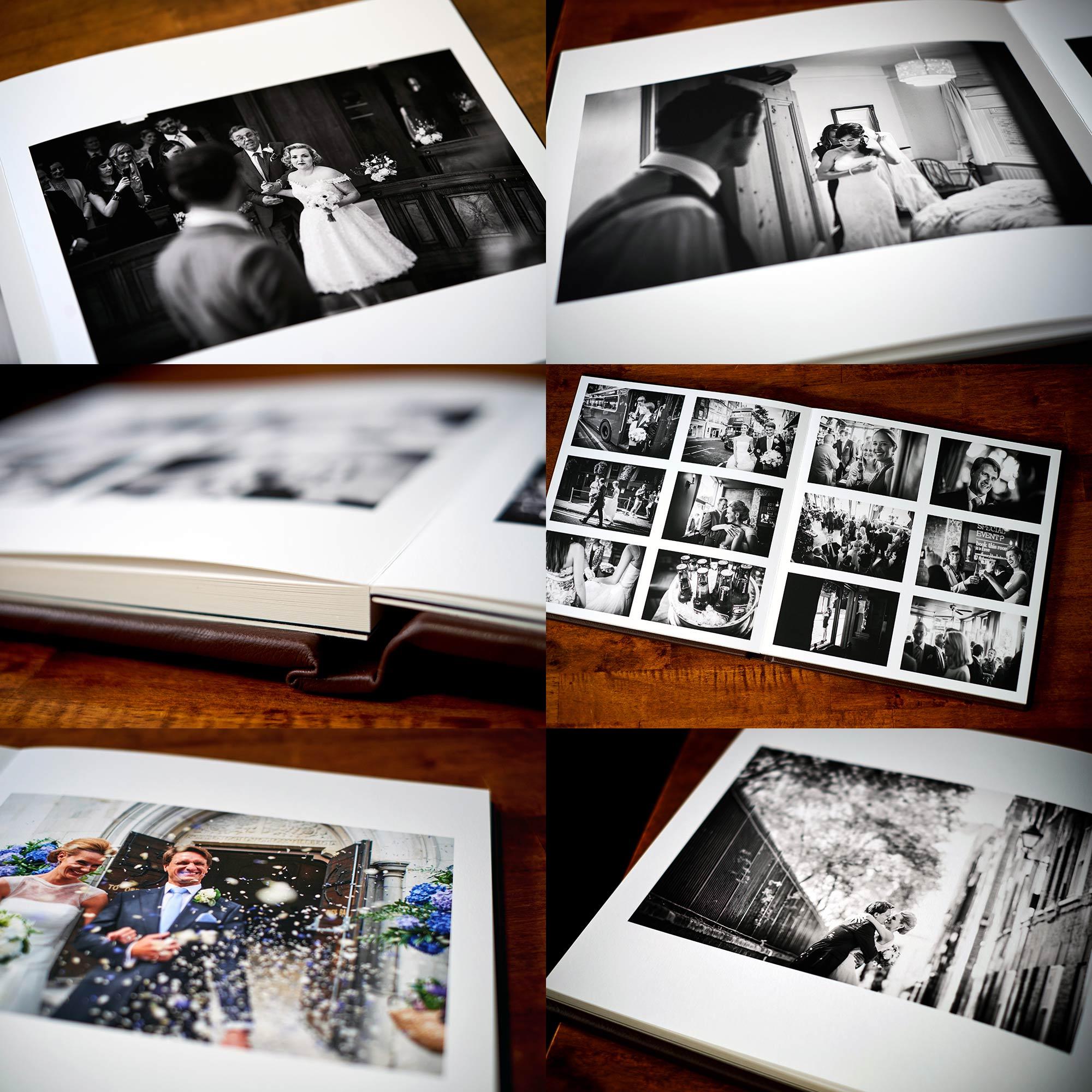Best wedding album for reportage wedding photography
