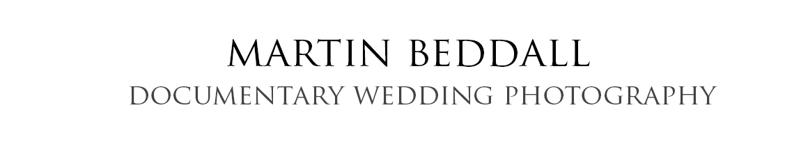 Martin Beddall Documentary Wedding Photographer logo